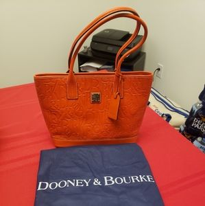 Dooney & Bourke Retro Embossed Leather Russel